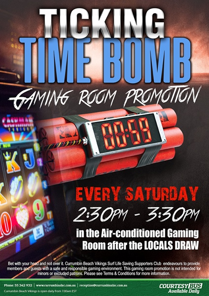 New Gaming Room Promotion